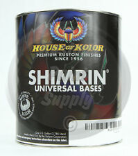 House of Kolor S2-26 White Shimrin Universal Solid Basecoat 1 Gallon