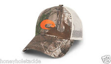 BRAND NEW COSTA DEL MAR MESH ADJUSTABLE CAP HAT  CAMO STONE WITH ORANGE