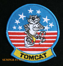 F-14 TOMCAT BABY STARS N STRIPES HAT PATCH USS US NAVY TOPGUN STARS PIN UP WOW