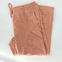 Champion Elite Women's Size XXL Salmon Pink/Black Joggers Sweatpants Pockets