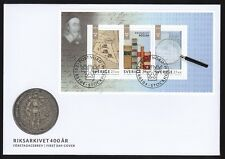 Sweden 2018 FDC MS 400 Year Of The Swedish National Archive