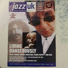 Jazz UK revista número 72, noviembre/diciembre de 2006, Colin ciudades Norma Winstone Frank Zappa
