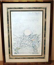 Gran Acuarela Original por S.N. Fairbrother Enmarcado & firmado 1984