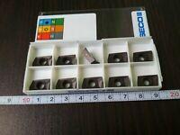 SECO XOMX 120404TR-ME08 MP2500 10 PCS Original carbide inserts FREE SHIPPING