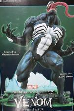 MARVEL VENOM RESIN STATUE Premier Collection Limited edition Spider Man Rare F/S