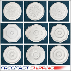 Ceiling Rose Easy Fit Very Light Weight Polystyrene 50cm Diameter Finest Quality