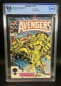 Avengers #257 CBCS 9.6 1st First Appearance Nebula Marvel Comics WP White pages