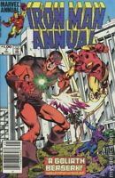 Iron Man Annual #7 FN 1984 Stock Image 1st app. Goliath