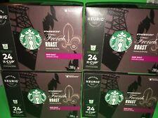 Starbucks Coffee Keurig K-Cups, French Roast, Dark Roast 96 pods expire 5/2021