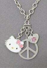 NWT Kimora Lee Simmons Hello Kitty Triple Charm Necklace