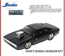 Dodge Charger R//T 1970 schwarz Fast /& Furious mit Dom Figur Modellauto 1:24 Jada
