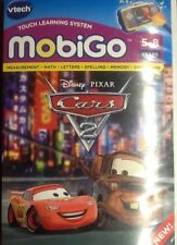 VTech Mobigo Touch Learning System Game Disney Pixar Cars 2 (5-8 Years)