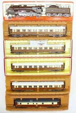 Rivarossi HO DC French CIWL FLECHE D'OR LOCOMOTIVE & PASSENGER COACH SET MIB!