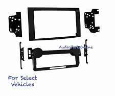 Double Din Stereo Radio Install Mount Trim Face Kit for some Chrysler Dodge Jeep