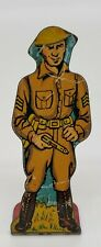Infantry Sergeant #10 Vintage Marx Toy Lithograph Tin Litho Army Soldier Figure