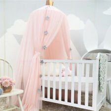 BG_ Nordic Baby Bed Canopy Crown Round Dome Hanging Mosquito Net Tent Room Decor