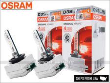 2x New OSRAM Xenarc OEM 4300K D3S HID Xenon Headlight Bulbs 66340 35W GERMANY