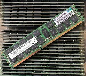 16GB  (1x16GB) HP 672612-081 PC3-12800R  DDR3-1600MHz HP Z420  Z620 Z800 Z820