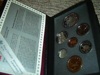 1994 Canada Proof Double Dollar Set (7 Coins Cent to Silver Dollar Mint Set)