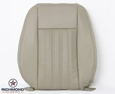 2003 Lincoln Aviator Luxury -Driver Lean Back PERFORATED Leather Seat Cover Tan