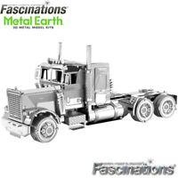 Metal Earth FLC Long Nose Freight Truck 3D LaserCut DIY Steel Model Building Kit