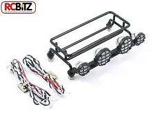 Fastrax METAL Roof Rack WITH LED's SMALL light Bucket lenses bolt fitting honcho
