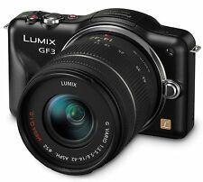 Panasonic Lumix DMC-GF3KK Micro 4/3 Mirrorless Digital Camera with 3-Inch - NEW
