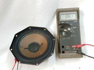Philips AD7065/W8 Vintage  speaker  8 Ohms Tested 8.1 Ohms