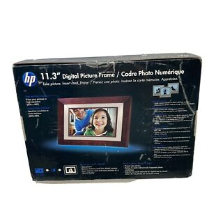 """HP Digital Picture Frame 11.3"""" W/Speaker With Remote NEW IN BOX Great Gift"""