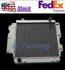 RADIATOR FOR JEEP WRANGLER L4/L6 2.5/4.0 1987-06 MANUAL & AUTOMATIC 3 ROW