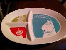 RARE Moomin Story Of Moominvalley oval Plate Yamaka Japan