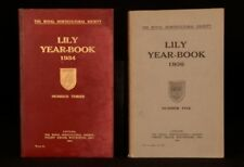 1932-36 5vol Royal Horticultural Society Lily Year Book Illustrated Black White
