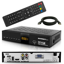 HD SAT Receiver Echosat Digital mit Audio Cinch USB HDMI Full HDTV 1080p Tuner