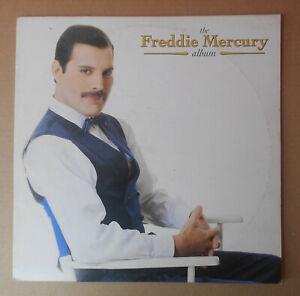 "THE FREDDIE MERCURY ALBUM DISCO LP 33 GIRI 12"" STAMPA ITALIANA BARCODE"