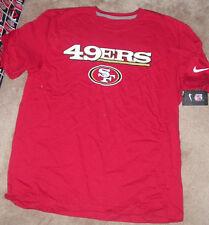 NEW NFL San Francisco 49ers T Shirt Men XL X-Large NIKE NEW NWT