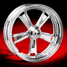"Performance Machine Judge Chrome 21"" x 3.5"" Front Wheel Rim Harley Davidson"