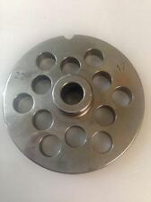 Piastra TC 22 Reber diametro 12 mm acciaio per tritacarne elettrico - Rotex