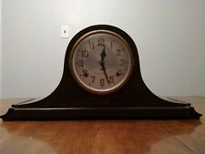 Plymouth Company-Seth Thomas 8-Day Keywound Tambour Style Mantel Clock (Z23B)