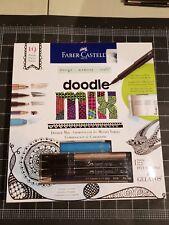 Faber-castell Doodle Mix memory design kit - Marker pen crayon pencil