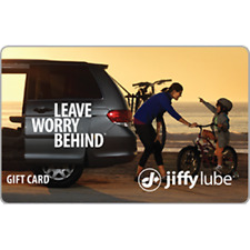 Jiffy Lube Gift Card $100 Value, Only $82.00! Free Shipping!