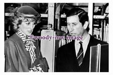 pu1622 - Princess Diana & Prince Charles in 1984 - photograph