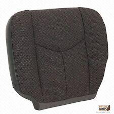2004 Chevy Silverado Truck 2500HD Driver Side Bottom Cloth Seat Cover Dk Gray
