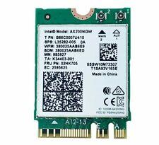 More details for intel wi-fi 6 (802.11ax) ax200ngw 02hk705 l35282-005 g86c0007u410 m.2 2230 card