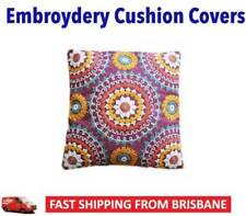 Polyester Embroidered Decorative Cushions & Pillows