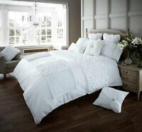 Dkny Old Rose Pink King Size Ruffled Duvet Cover 2