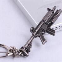 CF M4A1 Custom Assault Rifles KeychainMilitary Alloy Weapon Model KeyRing 6CM