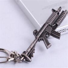 Cross Fire CS CF Submachine Gun KeyRing M16A1 Miniature Weapon Model Keychain ♫