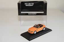 = MINICHAMPS BMW Z3 M ROADSTER 1997 KYALAMI ORANGE MINT BOXED