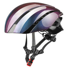 RockBros Bike Road Protective Pneumatic Streamlined Helmet Gradient Purple