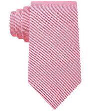 $125 CALVIN KLEIN Mens PINK WHITE CHECK DOT NECK TIE SLIM CASUAL NECKTIE 60X3.25